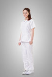 Attractive Asian nurse Royalty Free Stock Photography