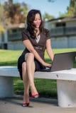 Attractive hispanic business woman Royalty Free Stock Image