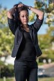 Attractive hispanic business woman Royalty Free Stock Photo