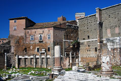Augustus Forum in Rome (Italy) Stock Photo