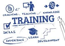 Ausbildung, trainierend Stockbilder
