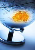 Australia Globe Royalty Free Stock Image
