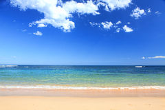 Australian Beach in summer Royalty Free Stock Images