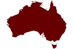 Australien Arkivbild