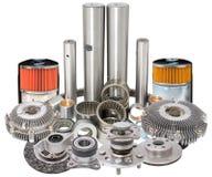Auto car spare parts Stock Images