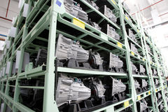 Auto Engines factory Royalty Free Stock Image