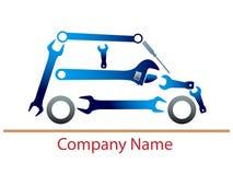 Auto garage logo Stock Photo