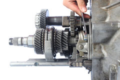 Auto gearbox service Stock Photography