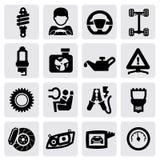 Auto icon Stock Images
