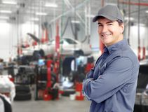 Auto mechanic. Stock Photography