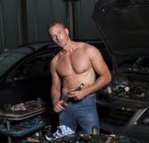 Auto mechanic Royalty Free Stock Image