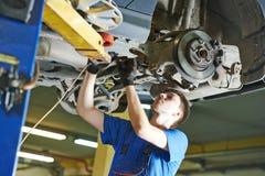 Auto mechanic working Stock Photography