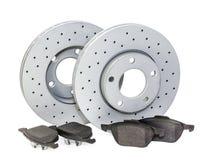 Auto parts. brakes Stock Images