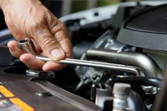 Auto Repair Concept Royalty Free Stock Photos