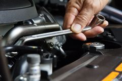 Auto Repair Concept Royalty Free Stock Photography