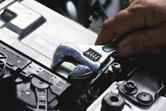 Auto repair concept Stock Photo