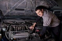 Auto Repair Mechanic Royalty Free Stock Photography