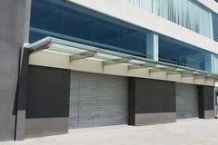 Automatic garage door Stock Images