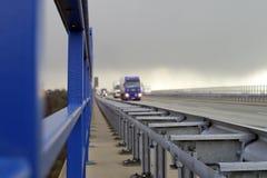 autostrada ruchu Obrazy Stock