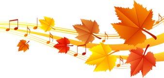 Autumn music Stock Photo