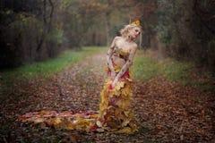 Autumn Nymph Royalty-vrije Stock Fotografie