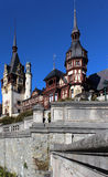 Autumn at The Peles Castle, Romania Royalty Free Stock Photography