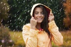 Autumn rain Stock Photography