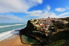 Azenhas do Mar, Sintra, Portugal Royalty Free Stock Photo