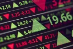 Börse-Börsentelegraf Lizenzfreie Stockbilder