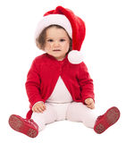 Baby Christmas Santa Royalty Free Stock Photos