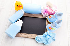 Baby stuff Royalty Free Stock Image