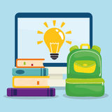 Back to school graphic Stock Image