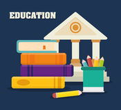 Back to school graphic Stock Images