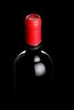 Backlit wine bottle Royalty Free Stock Images
