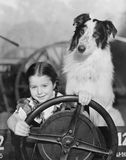 BACKSEAT DRIVER Stock Images