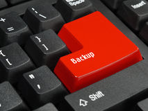 Backup key Royalty Free Stock Photography