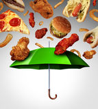 Bad Diet Protection Stock Images