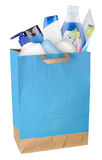 Bag with cosmetics Stock Image