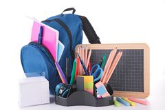 Bag and school accessories Stock Images
