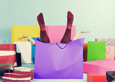 In the bag Royalty Free Stock Images