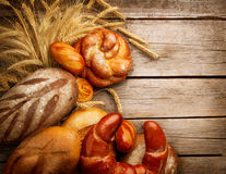 Bakery Bread and Sheaf Stock Photo