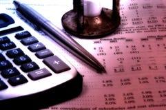 Balance Sheet Stock Image
