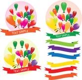 Ballong ballonger, luft, Royaltyfri Bild
