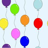 Balloon repetition Royalty Free Stock Photography