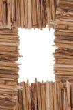 Bamboo cane frame Royalty Free Stock Photos
