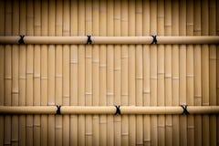Bamboo fence texture Stock Photos