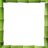 Bamboo frame Royalty Free Stock Photos