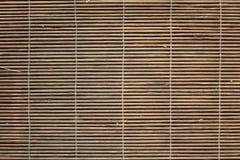 Bamboo place mat texture Stock Photos
