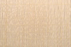 Bamboo tablecloth background texture Stock Photo