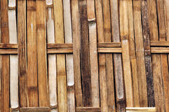 Bamboo walls texture,Woven bamboo wall textures and backgrounds Royalty Free Stock Photography
